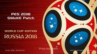 Download PES 18 World cup mode!! 20.28 MB