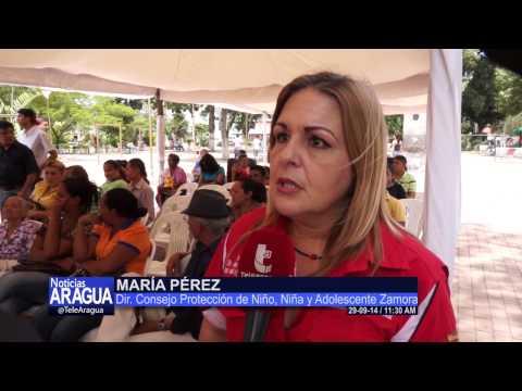 Tribunal Móvil efectuó operativo de Orientación Legal en Villa de Cura 29-09-14