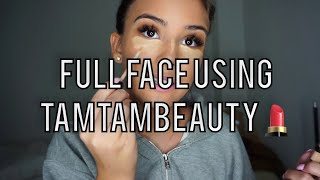 FULL Face using TamTamBeauty ✨ | Jasminazizam