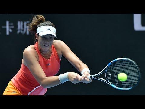 Garbine Muguruza v Kirsten Flipkens highlights (2R) | Australian Open 2016
