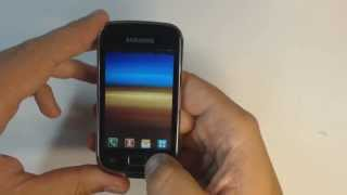 Samsung Galaxy mini 2 S6500D - How to reset - Como restablecer datos de fabrica
