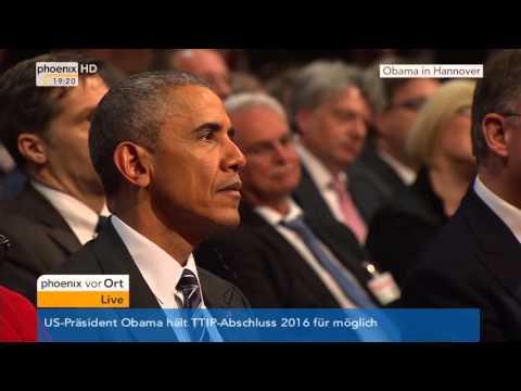 Eröffnungsfeier der Hannover Messe: Rede von Bundeskanzlerin Angela Merkel am 24.04.2016