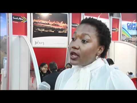 Lindiwe Mahlangu-Kwele, CEO, Johannesburg Tourism Company (JTC) South Africa @ WTM 2010