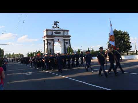 Репетиция парада в честь 75-летия Курской битвы