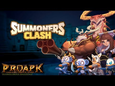 Summoners Clash Gameplay Android / iOS (by NHN Entertainment)