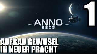 Anno 2205 Gameplay German #1 AUFBAU GEWUSEL IN NEUER PRACHT |  Let