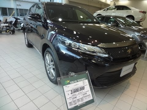 New Toyota Harrier 2014 Model
