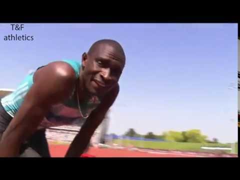 David RUDISHA 1:13.10 WL 600m Men's - Birmingham Diamond League 2016