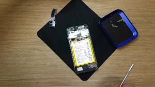 Huawei P10 Lite WAS-LX1 Full disassemble and clean to install new screen Part 1 of 2