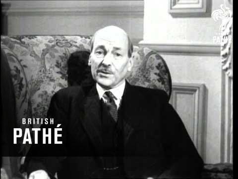 Clement Attlee interview