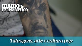 Arte e cultura pop resgatam mem�ria afetiva por meio de tatuagens