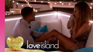 Michael Goes in for a Kiss With Amber... and Gets Pied | Love Island 2019