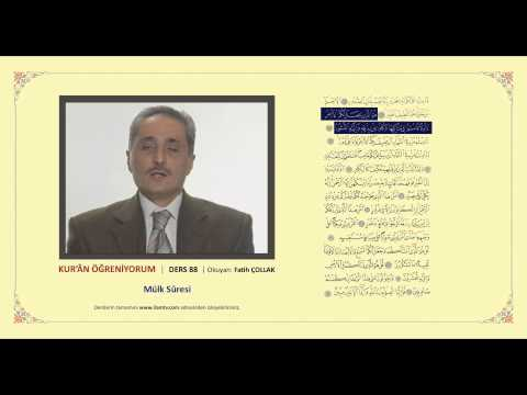 Kuran Öğreniyorum 88 -  Mülk Suresi (Fatih Çollak)