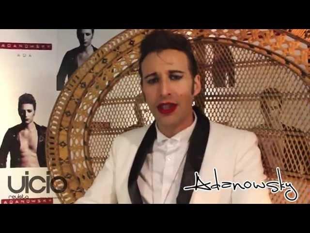 Saludo de Adanowsky - Revista Vicio