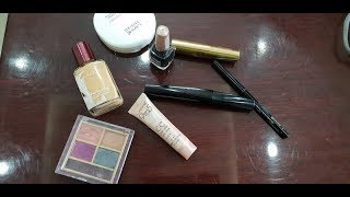simple makeup using only 8 Lakme products (हिन्दी में)   easy tutorial