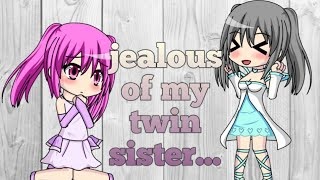 Gacha Studio ~ jealous of my twin sister ~ part 1