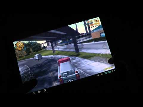 GTA 3 Transformer Prime Quad-Core Gaming Gameplay Video!