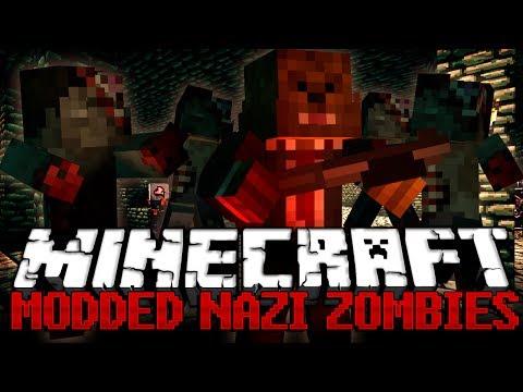 Minecraft: Call of Duty Nazi Zombies Modded Minigame w/ Vikkstar