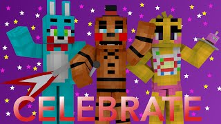 Celebrate: A Minecraft FNAF Blender Render
