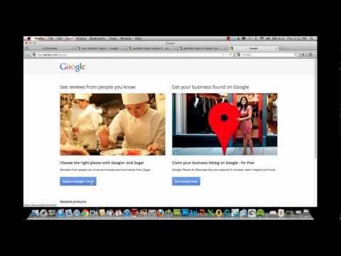 Google Plus Local vs Google Places   Google+ Local Page review