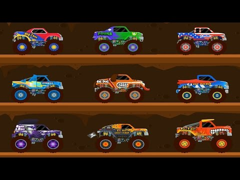 Monster Truck – Cool Car Track – Kids Truck – Car Videos for Baby Toddlers