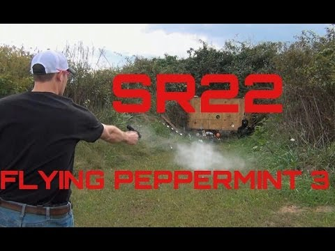 RUGER SR22 PISTOL QUICK DRAW   FLYING PEPPERMINT 3