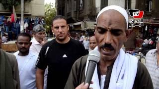 باعة رمسيس يرفضون نقلهم إلى المطرية ويطلبون البقاء في أحمد حلمي