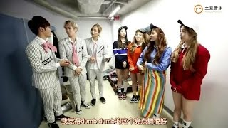 151113 Behind The Show - Red Velvet (레드벨벳) with Seventeen (세븐틴)