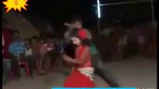 Bd kid hot dance in the village party.