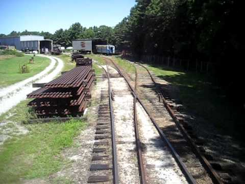 Riding the rails at the the Southeastern Railway Museum