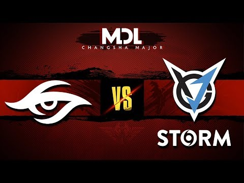 Team Secret vs VGJ.Storm Game 3 MDL Major 2018: Semifinals @GranDGranT @BSJ @Kyle