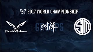 #7 Worlds 2017 / Day 2 / FW vs TSM / League of Legends worlds championship!