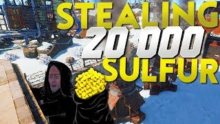 HOW I STOLE 20,000 SULFUR WITH A HOT AIR BALLOON   Rust