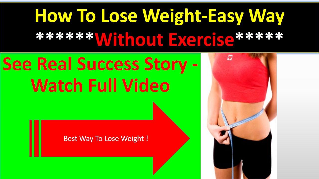 La mejor manera para la Mujer para bajar de peso