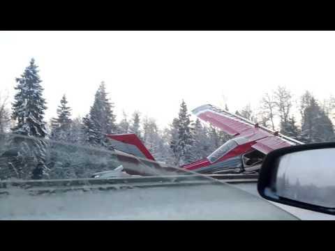 Самолёт упал на Ярославском шоссе под СергиевымПос