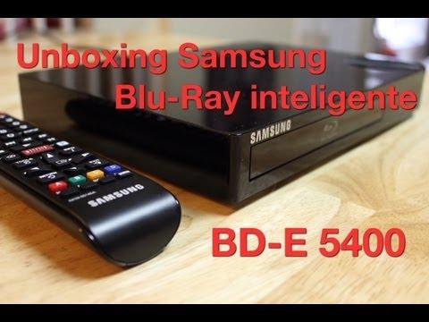 Unboxing Samsung Blu-Ray modelo BD-E5400  - Tour y Primeras impresiones