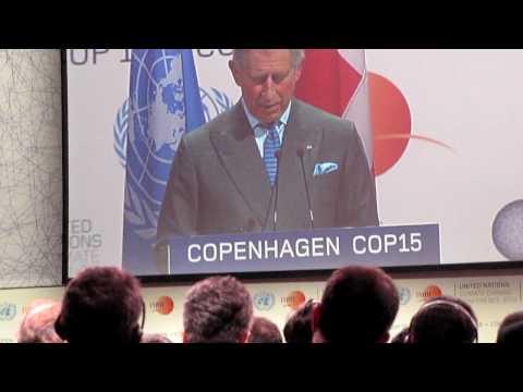 UN COP15 Copenhagen - Charles, Prince of Wales Opening's Speech