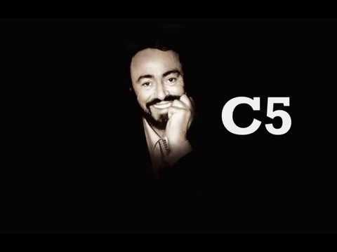 luciano pavarotti vocal range c 3 f5