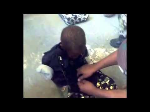 حرس مكة يكشفون ايادي الاطفال المتسولين