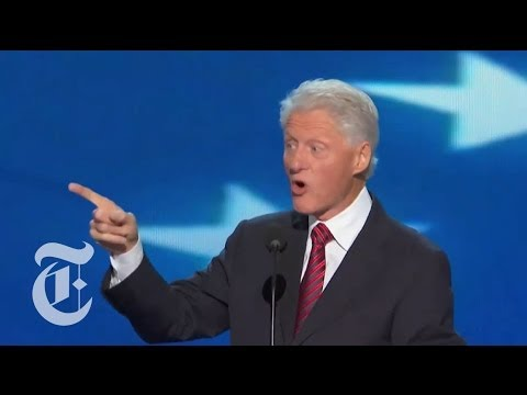 Election 2012 | Bill Clinton's Full DNC Speech | The New York Times