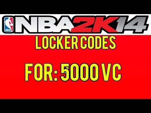 NBA 2K14 Locker Codes - Free 5K VC! PS3/PS4/XBOX ONE/XBOX 360