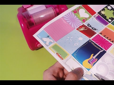 Sticker Machine Junior Art Video for Kids by Mini Toys Channel