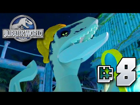 Fabulous Raptors!! Jurassic World LEGO Game - Ep8