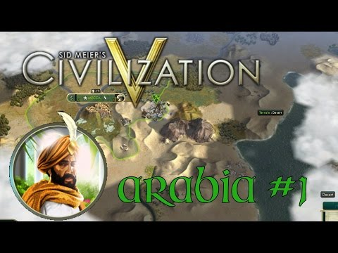 Civilization V Brave New World - Arabia #1 The Great Library