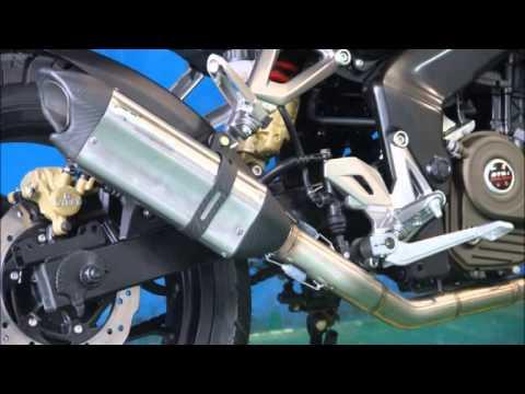 Muffler Sound R9 Valencia Stainless Series Kawasaki Bajaj Pulsar 200NS