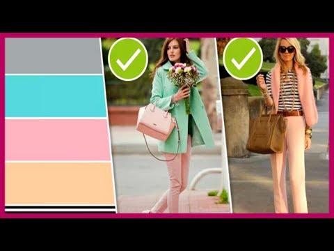 🔴 КАК СКИНУТЬ 10 ЛЕТ с помощью цветов в одежде   ★ Women Beauty Club