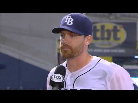 Chris Archer drenches Logan Forsythe after Tampa Bay Rays win