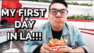 MY FIRST DAY IN LA!!! // Vlog #3