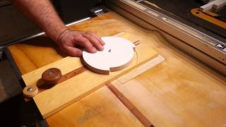 "Woodworking-""Cutting Perfect Circles"" Action Video"