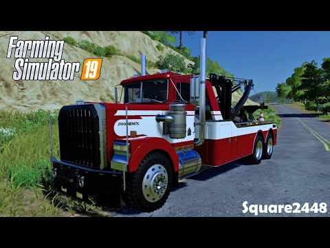 TLX WRECK-IT TOWING BROKEN DOWN TRUCK & TOY HAULER  XBOX ONE   FS19